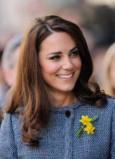 Kate's smile.