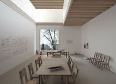 Teaching room for the Garden Museum, by Dow Jones architects