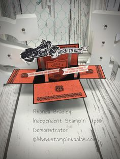Stampin up One Wild Ride Card in A Box www.stampinkoalas.com