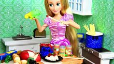 My Froggy Stuff: Let's Eat! How to Make Doll Food : Pasta with all the fixings!