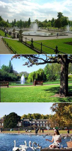 World's Most Beautiful City Parks: Hyde Park, London