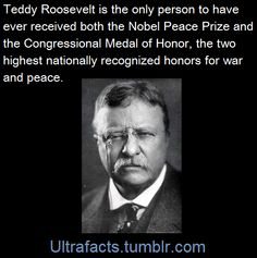 Because I love Teddy.  And I love facts.  And this blog is my very favorite ever. (Fact Source) Follow Ultrafacts for more facts