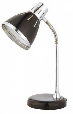 lampa de birou neagra cu gat flexibil MARIO 4209 marca RabaLux