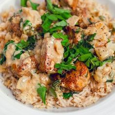 This Basil Chicken in Coconut Curry Sauce is incredibly easy to make and absolutely packed with delicious spice and flavor. Sauce Recipes, Chicken Recipes, Cooking Recipes, Healthy Recipes, Healthy Food, Easy Recipes, Keto Recipes, Korma, Poulet Tikka Masala