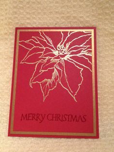 . Christmas Poinsettia, Christmas Cards, Merry Christmas, Card Crafts, Winter Cards, Joyful, I Card, Crafting, Christmas E Cards