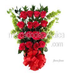 Arreglo Floral Jumbo Rosas !| Envia Flores