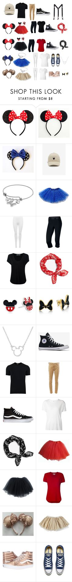 """Disney Outfits"" by ale-needam on Polyvore featuring Disney, WearAll, NIKE, Alexander Wang, rag & bone, Dolce&Gabbana, Junya Watanabe, Vans, R13 and MICHAEL Michael Kors"
