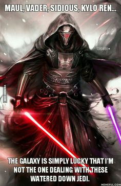 They just don't make Sith Lords like they used to... - 9GAG