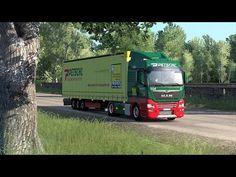 Euro Truck Simulator 2 - NaturaLux - Pana si in , Bucov. Truck Simulator, Black Sea, Euro, Trucks, Truck