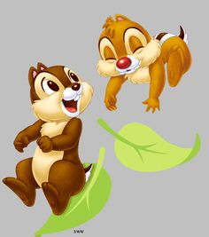Chip N Dale Cartoon | Chip and Dale might as well be one word. Born in a small town outside ...