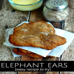 How To Make Elephant Ears. Remember going to the county fair and the FIRST thing you wanted to put in your mouth was Elephant Ears?  This is an easy recipe to show you how to make Elephant Ears! Click through for recipe! | Easy Recipe
