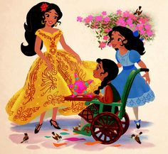 Elena, Christina and Isabel | Elena of Avalor