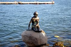 Little Mermaid, Copenhagen, Dennmark.