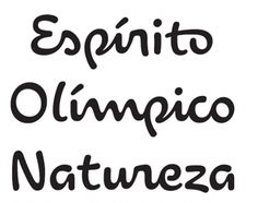 Rio 2016 font released ••• Straight and angular as the London 2012 font by Alias was, as soft and round is the new custom typeface designed exclusively by Dalton Maag for the upcoming Olympic Games in Rio de Janeiro, Brazil. One of only a few bespoke fonts created by a Brazilian team, the Rio 2016™ font depicts the theme of the Olympic and Paralympic emblems: Passion and Transformation. •••