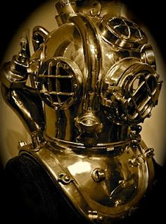 The U.S. Navy Mark V is the most coveted and recognized diving helmet in the world