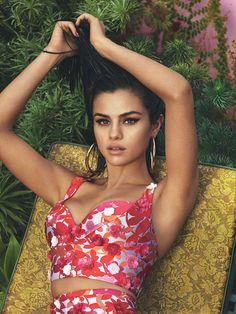 "selenagomezselen: ""March 16: Selena Gomez for the April 2017 Issue of Vogue… """