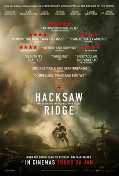 Hacksaw Ridge [26/01/17] - Best picture nominee