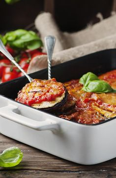 Parmesan Eggplant Casserole