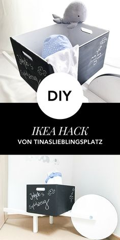 IKEA Hack: So wird aus einem IKEA Hocker das perfekte Kinderspielzeug Ikea Hacks, Ikea Hack Kids, Frosta, Place Cards, Place Card Holders, Diy Wood, Products, Ikea Furniture Hacks, Wheelbarrow