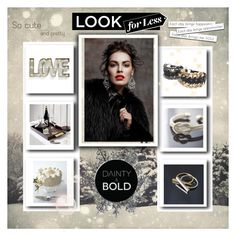 """DAINTY&BOLD"" by eemiinaa ❤ liked on Polyvore featuring moda, CB2 e Creative Co-op"