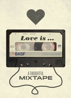 """Photo """"Love Is A Mixtape"""" by Kristian Bjornard Music Love, Music Is Life, Valentine Music, Valentines, Song Playlist, Facebook Image, Love Pictures, Pictures Images, Beautiful Pictures"""