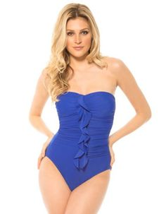 ce1623f9221ba Miraclesuit Camilla Electric Blue Swimsuit for with free worldwide delivery  and get it next working day in the UK from UK Swimwear.