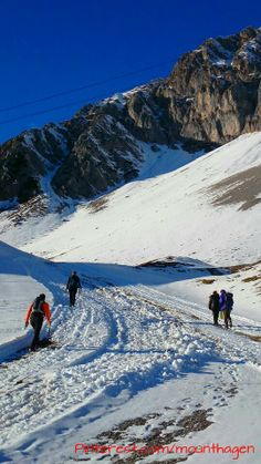 hiking to Seegrube in Innsbruck, Austria