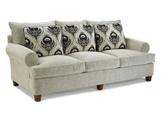 Shop for Fairfield Chair Company Sofa, 3778-50, and other Living Room Sofas at Hickory Furniture Mart in Hickory, NC. Flawless design and beautiful aesthetics make this sofa a must-have addition.  A flourish of sharp looks and a versatile build provide a sofa that lends purpose to your home.