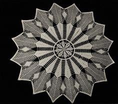 Crochet Curtains, Crochet Tablecloth, Crochet Doilies, Crochet Lace, Irish Crochet Patterns, Doily Patterns, Baby Knitting Patterns, Bee, Weaving