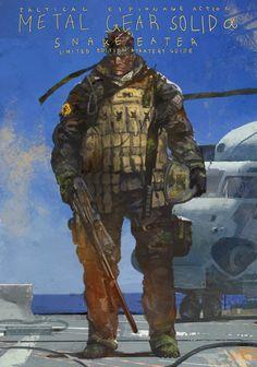 Metal Gear Solid by BraveKing