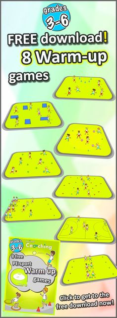 8 great PE warm-up games | An, Awesome and Pes