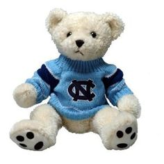 North Carolina Tar Heels Sweater Bear (Sports)