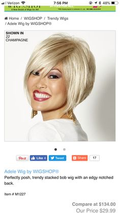 Perfectly Posh, Amazon Gifts, Wigs, Bob, Brand New, Bob Cuts, Lace Front Wigs, Bob Sleigh, Bobs
