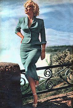 """Marilyn Monroe en """"Niágara"""", 1953"""