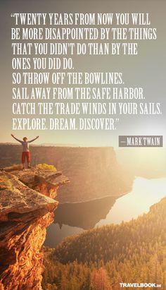 Mark Twain hatte bekanntlich immer recht.