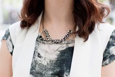 Flutter by Jill Golden necklace. Piera Gelardi, Refinery 29 creative director.
