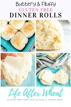 These gluten free rolls are perfectly soft, fluffy and so easy to make! Ready in just one hour, they are the perfect addition to any meal and will be enjoyed by everyone, gluten-eaters included! Dairy free option included. Best Gluten Free Desserts, Gluten Free Recipes For Breakfast, Wheat Free Recipes, Bread Recipes, Gluten Free Dinner Rolls, Fluffy Dinner Rolls, Dairy Free Options, Gluten Free Flour, Fall Recipes