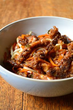 Chinese Crispy Beef withNoodles