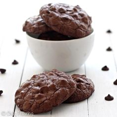 Double chocolate chip cookies from chillyfrosting.com.