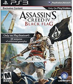 On sale now Assassin's Creed IV: Black Flag Playstation 3 Video Game - TrackIf