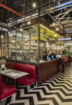 You're the one for me patty, low-budget restaurant fit out sizzles the opposition at major award ceremony... #restaurantdesign