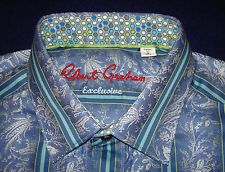 "Available now for  is this awesome ROBERT GRAHAM EXCLUSIVE SHIRT - S - NWT - SHIRTS - DRESS SHIRT - DESIGNER SHIRTS. Tap the ""Visit"" button for purchasing."