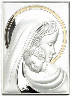 Obrazek Matka Boska z Dzieciątkiem - (s#B2255,6,7,B2258ORO,9) [PasazHandlowy.eu]