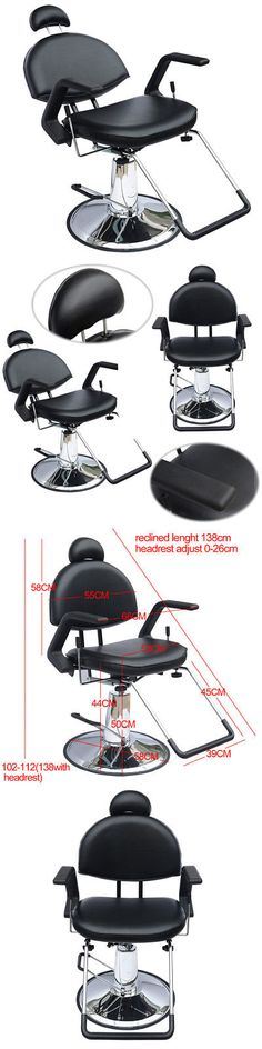 Stylist Stations and Furniture: All Purpose Reclining Hydraulic Barber Chair Salon Beauty Spa Shampoo Equipment -> BUY IT NOW ONLY: $129.99 on eBay!