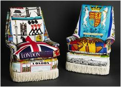 suzie stanford's tea towel travellers' furniture