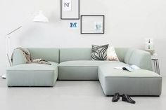 banking scandinavisch whkmps own hoekbank links Town V, Mint Mint, Sofa, Couch, Relax, My Style, Furniture, Home Decor, Living Room, Settee