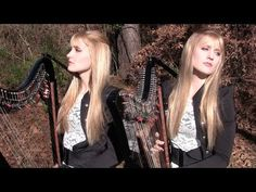 ▶ METALLICA - The Unforgiven (Harp Twins electric) Camille and Kennerly - YouTube