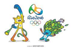 Río 2016 Olímpicos y Paralímpicos de Mascotas