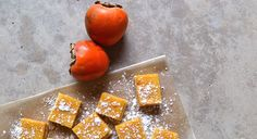 Persimmon Lemon Bars