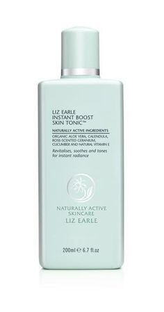 liz earle's instant boost tonic has a rosy scent #skincare #toner